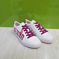 Кросівки жіночі KEDDO білі/фуксія, фото 1