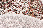 Ковер восточная классика QUEEN-80 6860a 1,6Х2,3 Красный овал, фото 3