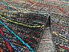 Ковер мультиколор RAINBOW 14 COLORS 4110a 1,6Х2,3 ЧЕРНЫЙ прямоугольник, фото 3