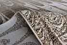 Ковер современный RAKKAS 0097 1,7Х1,2 БЕЖЕВЫЙ прямоугольник, фото 4
