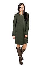Женское пальто Классика (зеленый)