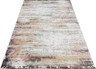 Коврик современный RITIM 7673A 0,8Х1,5 КРЕМОВЫЙ прямоугольник