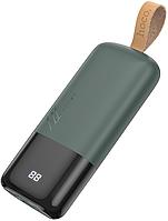 Внешний аккумулятор Hoco J57 Excellent NRG   10000 mAh   Power Bank   Тёмно-зеленый, фото 1