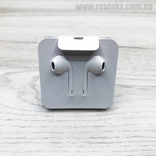 Наушники проводные APPLE iPhone EarPods lightning (White), фото 2