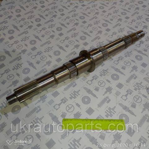 Вал вторичный КПП ГАЗ 3309 33104 ВАЛДАЙ с Двиг. ММЗ 245 5 ступ. КПП (ОАО ГАЗ) (33104-1701105 (ОАО ГАЗ))
