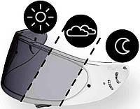 Стекло мотошлема Shoei CWR-1 photochromic фотохроматик