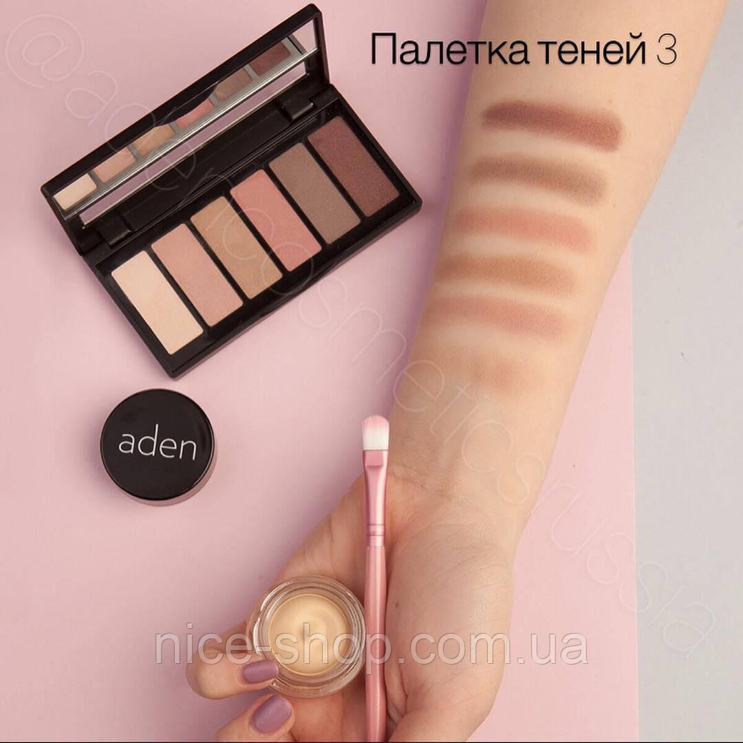 Палетка теней Aden Cosmetics Eyeshadow Palette, № 03