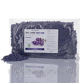 Гарячий плівковий віск TM Elit-lab ЛАВАНДА 1 кг - для жорсткого волосся