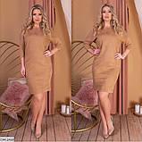 Стильное  платье  (размеры 48-54) 0235-28, фото 4