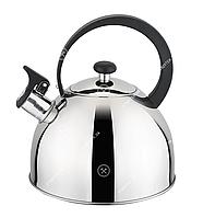 GT-1402-25 Чайник зі свистком GUSTO 2,5 л