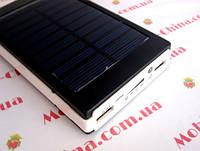 Power bank solar 15000 mAh + зарядка от солнечной батареи, фото 1