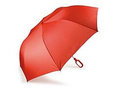 Складной зонт Mini Hook с ручкой-крюком, красный