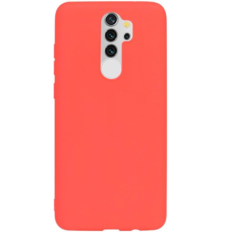 Чехол силиконовый TOTO 1mm Matt TPU Case Xiaomi Redmi Note 8 Pro Red