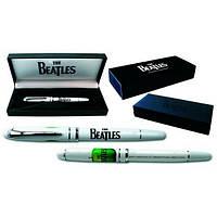 """Ручка гелевая """"The Beatles"""", белая, в подарочной упаковке"""
