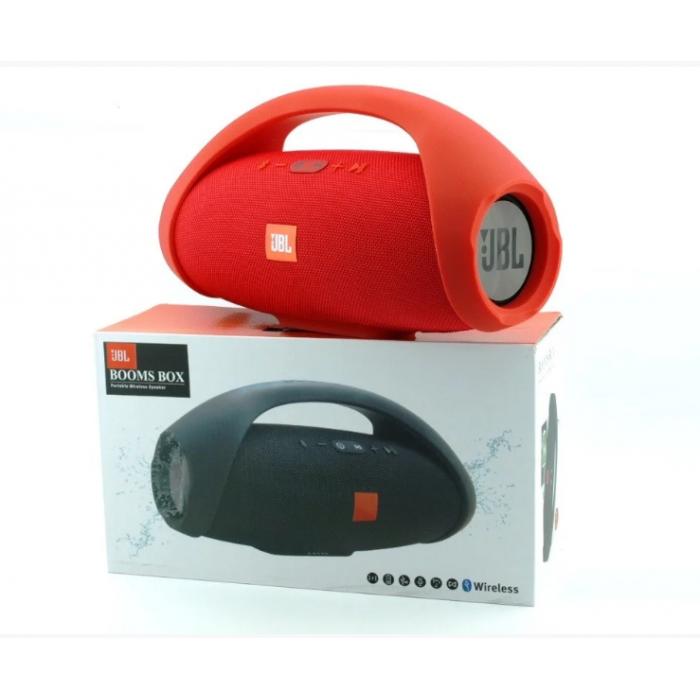 Портативна bluetooth колонка JBL Boombox BIG FM MP3 Червона