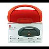 Портативна bluetooth колонка JBL Boombox BIG FM MP3 Червона, фото 6