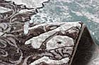 Ковер современный SAHRA 0163A 1,6Х2,3 БЕЛЫЙ овал, фото 2