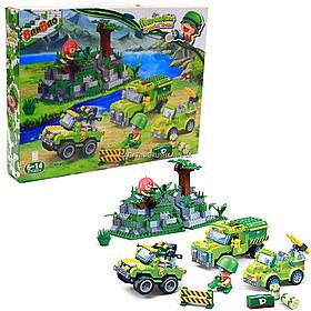 Конструктор «Военная техника» (BanBao), 655 деталей (6233)