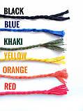 Хлопковая крученая веревка для вязания 4 мм мятного цвета, фото 3