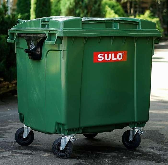SULO пластиковый контейнер для мусора 1100 л.