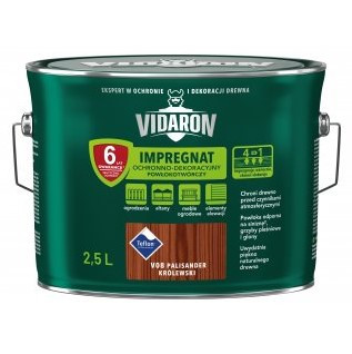 Імпрегнат декоративний захист деревини V08 Vidaron ПАЛІСАНДР КОРОЛ 2.5л