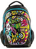Рюкзак PASO с абстракцией 21 л Черный (BDD-367), фото 2