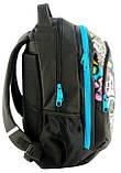Рюкзак PASO с абстракцией 21 л Черный (BDD-367), фото 3