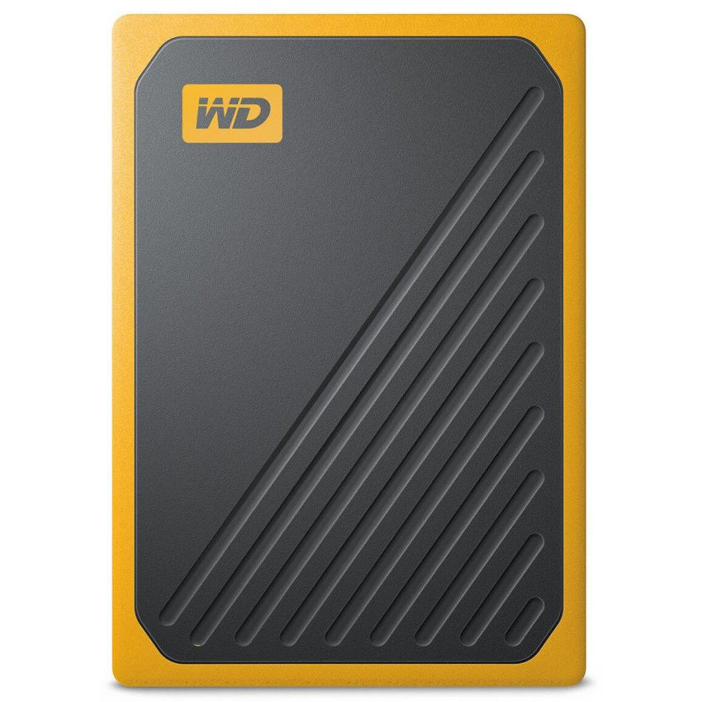 Портативный SSD USB 3.0 WD Passport Go 1TB Yellow