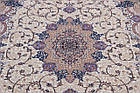 Коврик восточная классика SHAHNAMEH 8513C 1,5Х2,3 Белый овал, фото 6