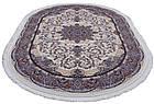 Коврик восточная классика SHAHNAMEH 8844A 1,5Х1,5 БЕЛЫЙ круг, фото 5