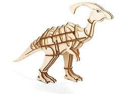 """Головоломка 3D-пазл """"Parasaurolophus"""", деревянный"""