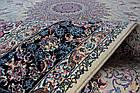 Ковер восточная классика SHAHRIYAR 017 2Х3 Кремовый прямоугольник, фото 5