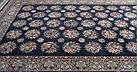 Ковер восточная классика SHEIKH 4249 2Х3 Черный прямоугольник, фото 5