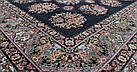 Ковер восточная классика SHEIKH 4249 2Х3 ЧЕРНЫЙ прямоугольник, фото 3