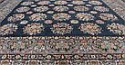 Ковер восточная классика SHEIKH 4249 2Х3 Черный прямоугольник, фото 6