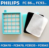 Фильтр HEPA для пылесоса Philips FC8471, FC8472, FC8473, FC8631, FC9323 и другие. Фильтр Филипс