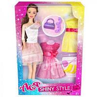 Кукла Ася Блестящий стиль 35066