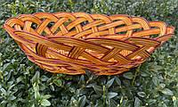 Хлібниця плетена із лози, фото 1