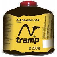 Баллон газовый резьбовой 230г Tramp