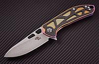 Складной нож Хелбой, для ежедневного ношения, имеет высокое качество сборки