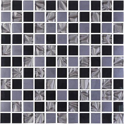 Мозаика Котто Керамика GM 8002 C3 Imperial S4-Ceramik Black-Black 300×300 мм, фото 2