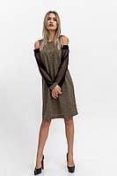 Платье женское 115R901 цвет Хаки