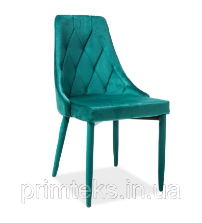 Стул Trix Velvet ( Трикс Вельвет) зелёный