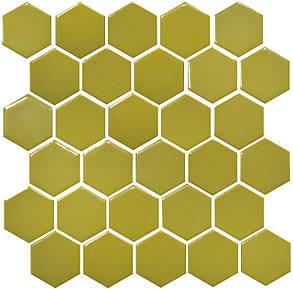 Мозаика Котто Керамика H 6016 Hexagon Olive 295×295 мм, фото 2