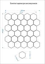 Мозаика Котто Керамика H 6016 Hexagon Olive 295×295 мм, фото 3