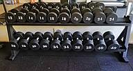 Гантельный ряд от 12 до 40 кг (с покрытием)
