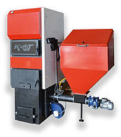 Побутові твердопаливні котли з пальником ретортного типу серії BRS BMT-WM 50 кВт, фото 1