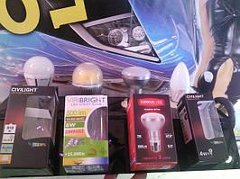 Світлодіодні лампи для побутових та промислових споживачів