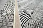 Ковер современный SOFIA 7527a 1,6Х2,3 КРАСНЫЙ прямоугольник, фото 2
