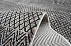 Ковер современный SOFIA 7527a 1,6Х2,3 КРАСНЫЙ прямоугольник, фото 3